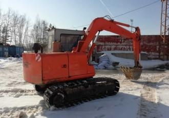 Аренда гусеничного экскаватора HITACHI EX60